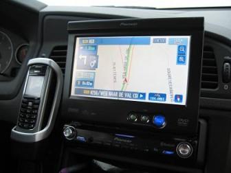 Zelfstandig rijden met een navigatie systeem
